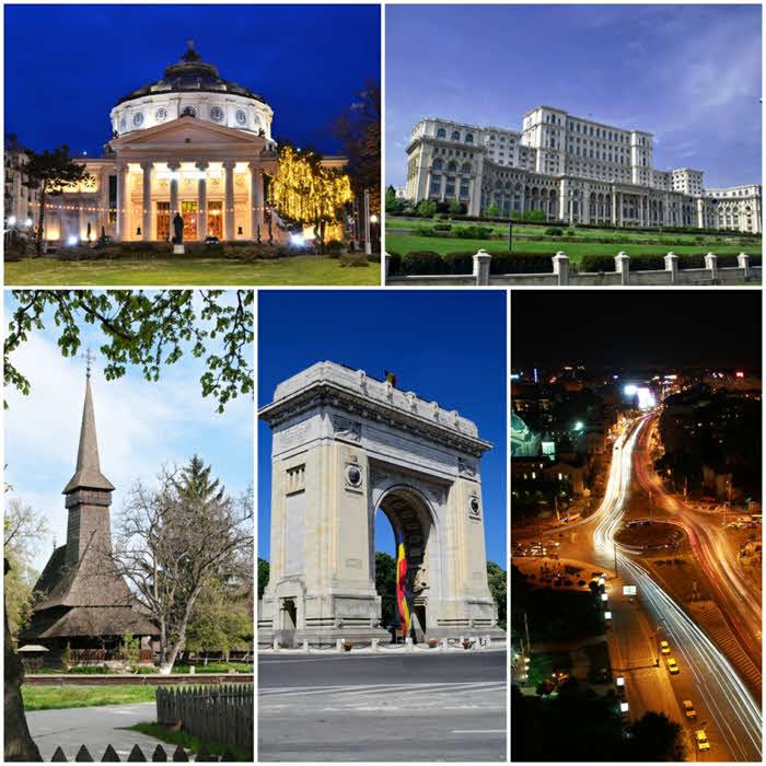 Turul orasului Bucuresti