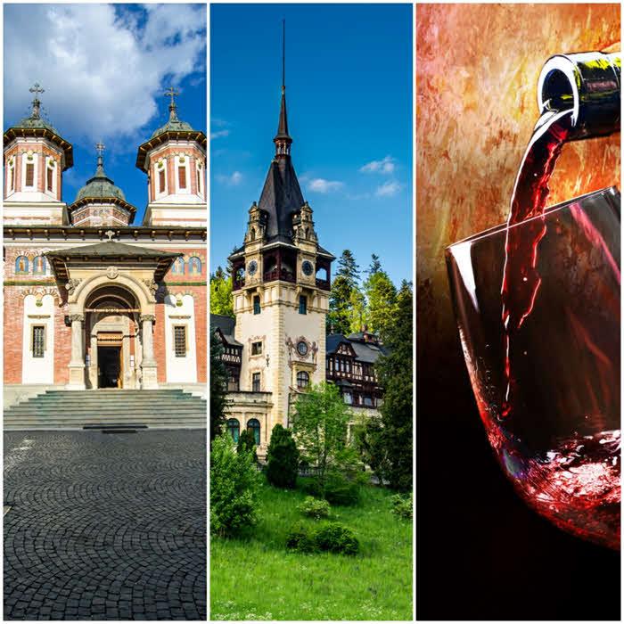 Degustare de vin – Cramele Rhein Azuga, Manastirea Sinaia si Castelul Peles